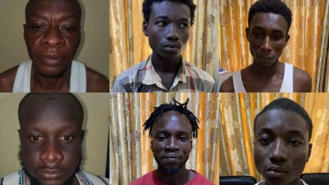 6 Notorious Armed Robbers Arrested In The Last 24hours By Ghana Police