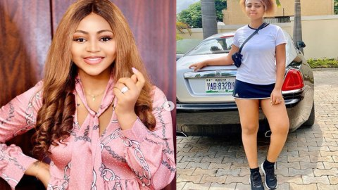 Regina Daniels Discloses Her Mother Says She Sometimes Look Like An Old Woman