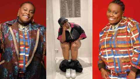 Teni goes gaga, shares a photo of herself in a toilet ahead of a major concert