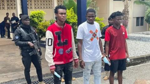 Three arrested for police recruitment scam in the Volta Region