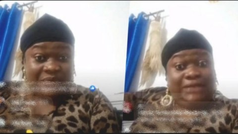 'Let me help you post it' – Wife unshaken as husband's side chic threatens to post her husband's nʋdes (Video)