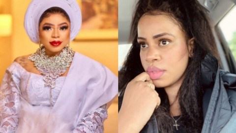"""Daffy Blanco Blasts Bobrisky After He Claimed He Doesn't Know Her, Says """"Without Tonto Dikeh You Would Still Be A Nobody"""""""