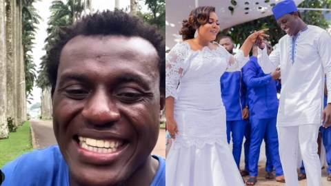 MJ The Comedian Ties The Knot In A Beautiful Marriage Ceremony (Photos)