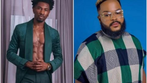 BBNaija 2021: Whitemoney Says He Want To Meet Boma If Tega's Husband Has Chopped Off His Legs