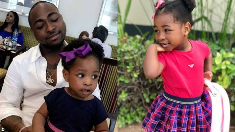 Davido Spends Millions On Daughter, Imade As He Takes Her On Shopping Spree In Disneyland [Video]