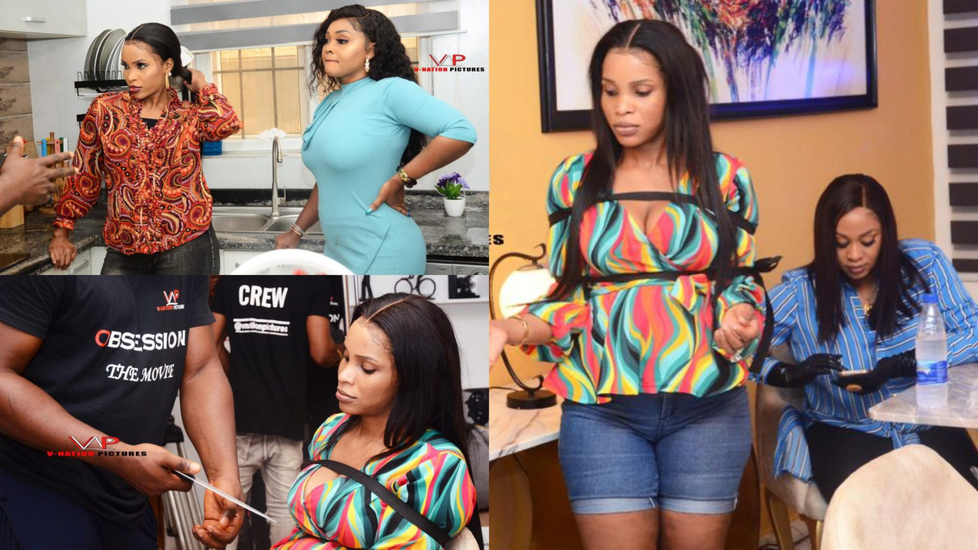 Benedicta Gafah Combines With Top Nollywood Stars In New Movie, 'Obsession'