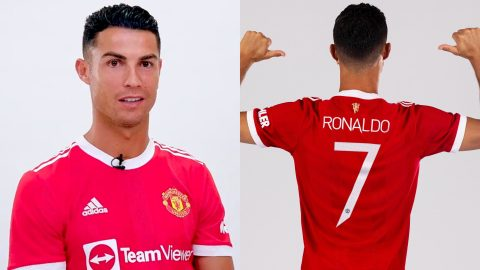 Ronaldo Effect: Manchester United sells £32.5m worth of Cristiano Ronaldo number 7 shirts within 12 hours after release
