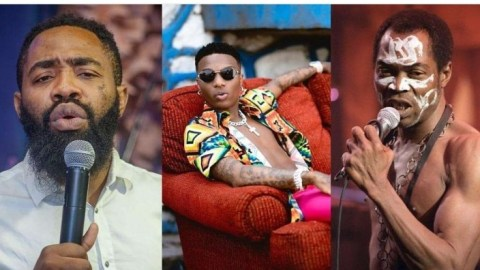 It's a mistake to compare Wizkid to Fela Kuti, Fela is being studied abroad- Comedian, Woli Arole