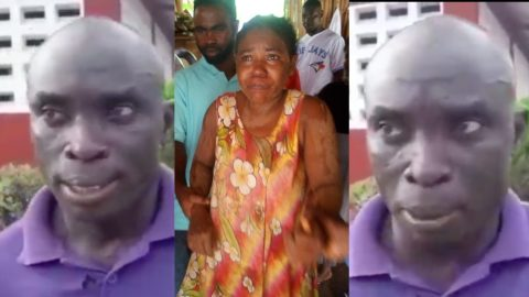 Carpenter who found the missing Takoradi woman gives full account of what he saw and how he rescued the woman [Video]