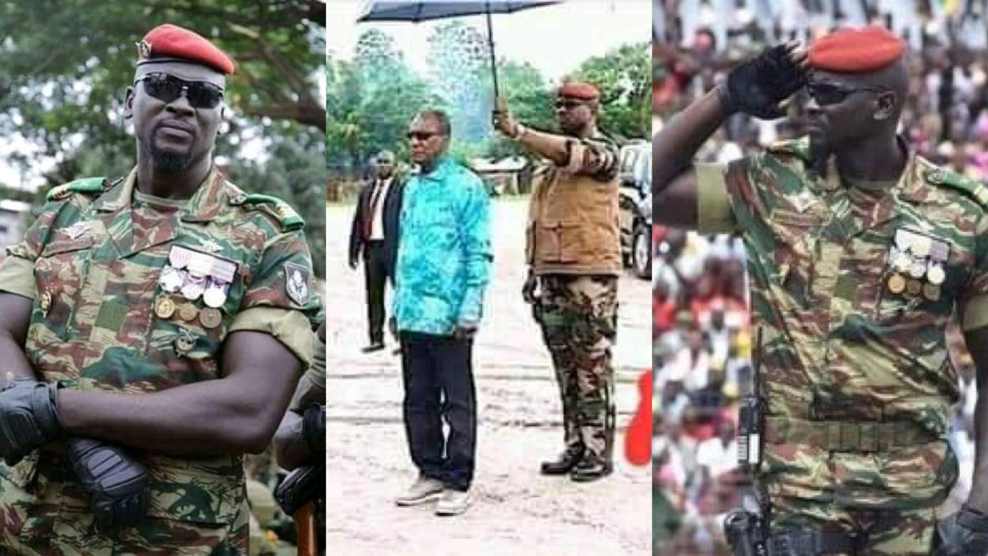 Guinea Coup: The betrayal story of how Alpaha Conde's army bodyguard, Mamady Doumbouya turned around to stage a coup against his master