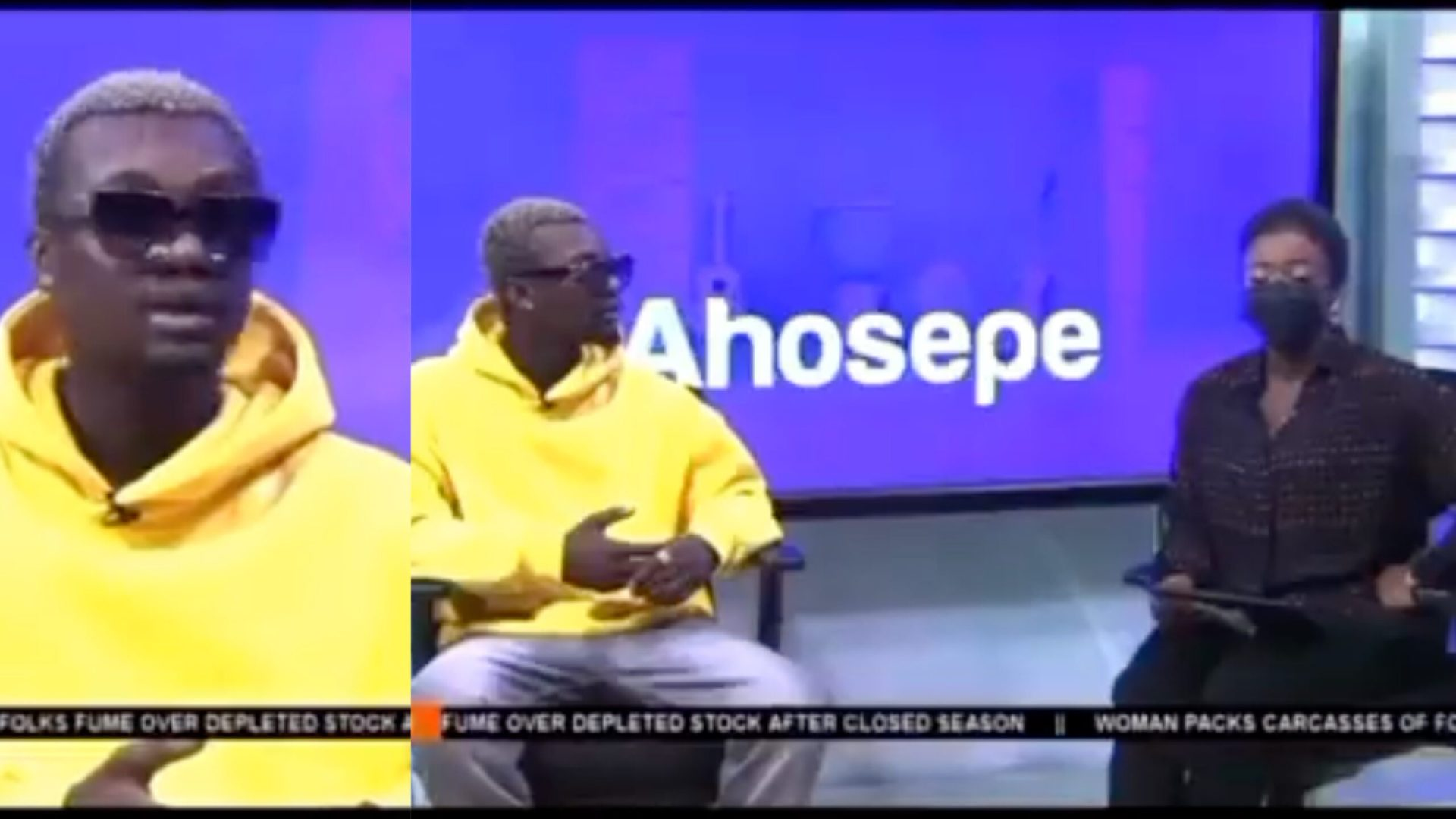 """Bring back my borrowed clothes"""" – Embarrassing moment for Yaw Berk as listener called in to request for his clothes while on TV [Video]"""