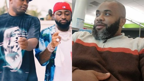 """""""This Dude Is Just An Id!ot"""" – Johnpaul Nwadike Blasts Israel DMW For Jubilating After Davido Lifted His Suspension"""