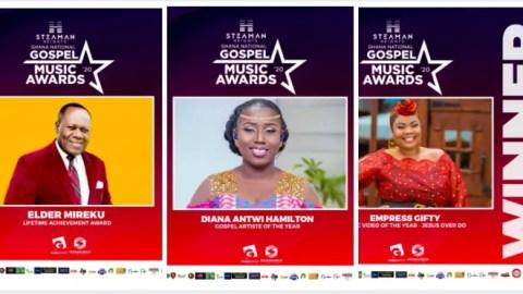 Official: Full List of Winners of 2020 Ghana National Gospel Music Awards (+ Photos