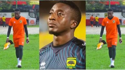 Goalkeeper Felix Annan pens emotionally laden massage as he leaves Asante Kotoko after 10 solid years