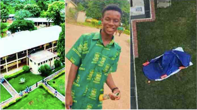 Father of Tweneboa Kodua SHS Student Who Jumped Wall To Death Gives Vivid Account To Counteract Police Report