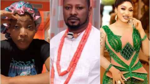 """""""He's A Professional Blackmailer And Met Tonto Dikeh A Month After Coming Out Of Prison"""" – Doris Ogala Drags Prince Kpokogiri"""