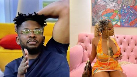BBNaija 2021: Pere Discloses Why Angel Is Snubbing Cross Despite Going On His Knee