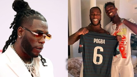 Check Out Moment Paul Pogba Stormed The Stage When Burna Boy Was Performing At  Parklife Music Festival [Video]