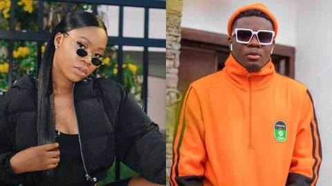 Dating rumours between AMG Armani and Freda Rhymz 'confirmed' after recent dating brouhaha with Akuapem Poloo