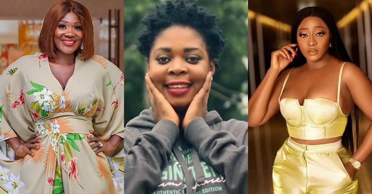 (+VIDEO) I wish to eat in the same bowl with Mercy Johnson, Ini Edo and Don Jazzy before I die - Joyce Dzidzor Mensah makes last wish