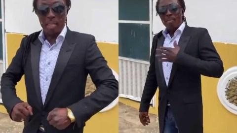 (+VIDEO) Money stops nonsense so work hard and get money – Kweku Bonsam advises