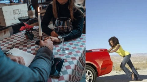Man makes his date push his car after it refused to start while trying to take her home
