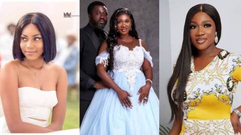 Did you know that Yvonne Nelson was Mercy Johnson's bridesmaid 10 years ago? Photo resurfaces online after she celebrated 10th anniversary
