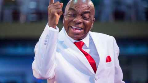 """""""A Worshipper Ran Mad While Trying To Steal From The Church"""" – Bishop Oyedepo"""