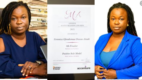 Brand's Manager Of Quick Angels, Veronica Ofosuhemaa Adjudged Finalist In Pan African Positive Role Model Awards