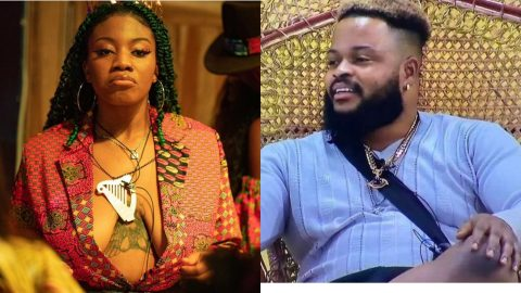 BBNaija 2021: Angel Is A Marketer Who Knows How To Create Content – Whitemoney Reacts To Angel's Nvde Video
