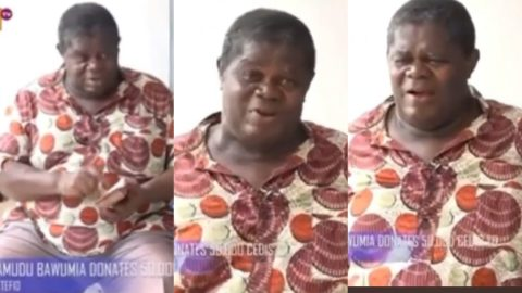 I've Never Held 50k In My Hands In My 72 Years Of Living – TT Emotional As He Calls Dr Bawumia His Saviour (+ Video)