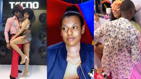 BBNaija 2021: Juju Or True Love?Netizens Quiz As Saga Snitches On Big Brother And Fails Task Of Avoiding Nini For A Short Time (+VIDEO)