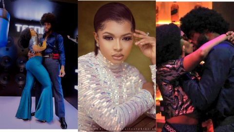 BBNaija 2021: Liquorose And Emmanuel Win A Private Dinner Date For Obeying Instructions Of Big Brother (+VIDEO)