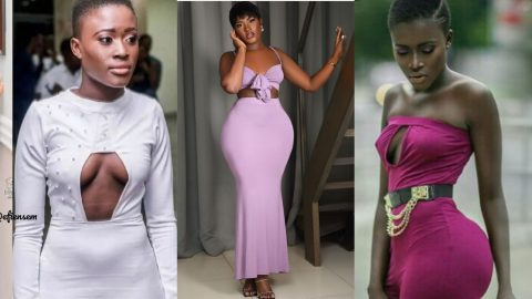 These Throwback Photos Of Fella Makafui Show How She Went From 'Grass To Grace' (+Photos)