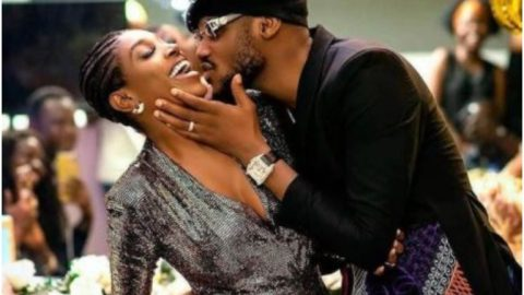Tuface Idibia Shares Loved Up Photo With Wife, Annie As He Clocks A Year Old Today