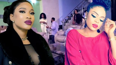 """Bobrisky Shades Tonto Dikeh, Says """"Na those people wey dey drop quote weekly dey find husband pass"""""""