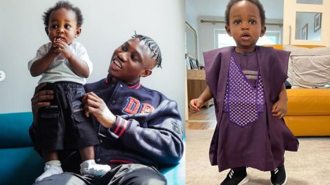 """Zlatan Ibile Shock As His Son Picks Snack Over Dollar Bills; Says  """"If Na Girl Na Otherwise"""""""