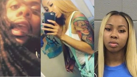Man celebrates his girlfriend who's serving 20 years jail-term for being overly loyal to him