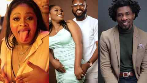 BBNaija 2021: Boma And Tega's husband Spotted Hanging Out Despite The Romantic Escapades He Had His Wife [Video]