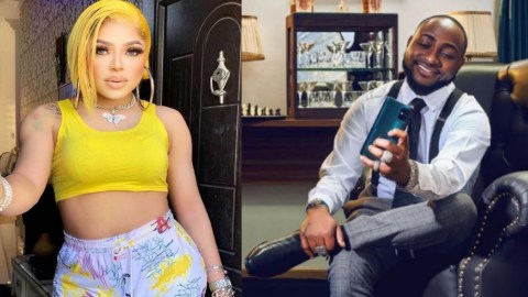 Bobrisky Speaks On Why He Loves Davido, Pleads With Folks Not To Twist His Words