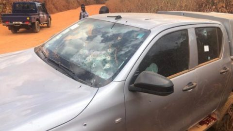 Tarkwa: Bullion van attacked by robbers, over GH¢100k stolen in broad daylight