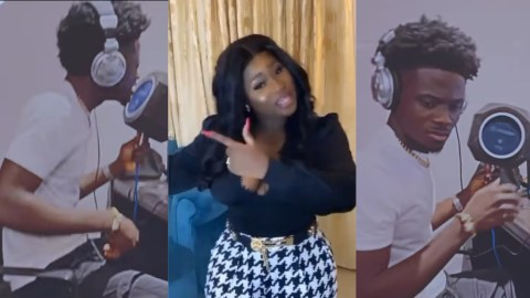 Leave Me Space – Kuami Eugene Begs Sista Afia As She Released Snippet Of Her Drill Music