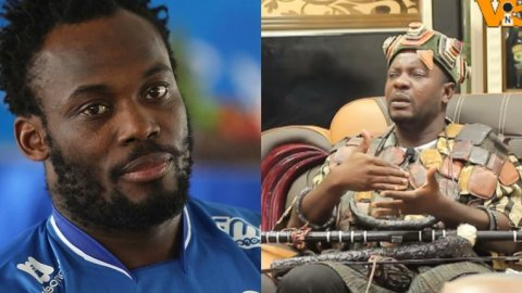 """""""I caused Michael Essien's downfall because he failed to honour a promise of buying a house"""" – Spiritualist claims [Video]"""