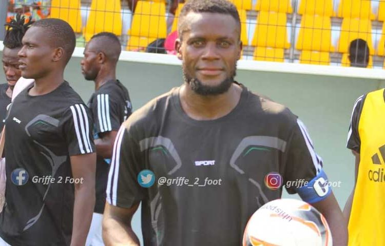 Meet Georges Mfegue; Kotoko's new 24-year-old Cameroonian striker