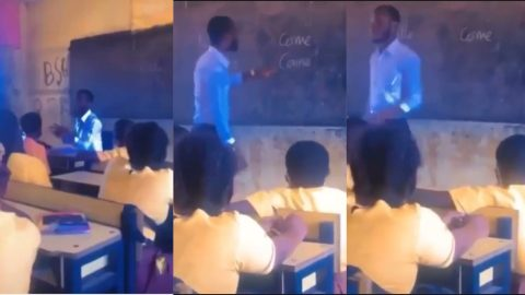 Video of Ghanaian teacher misteaching pupils raises concern of quality tuition in public schools