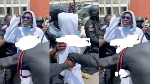 """""""Tell them, I want to sleep in prison for this"""" – Shatta Wale's message to Ghanaians after court trial [Video]"""