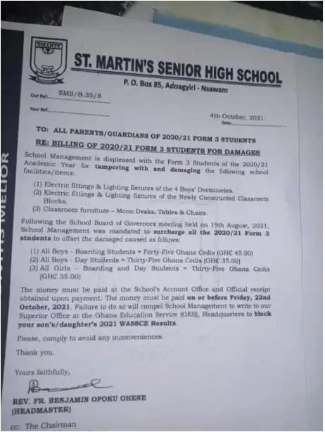 ST Martins Senior High