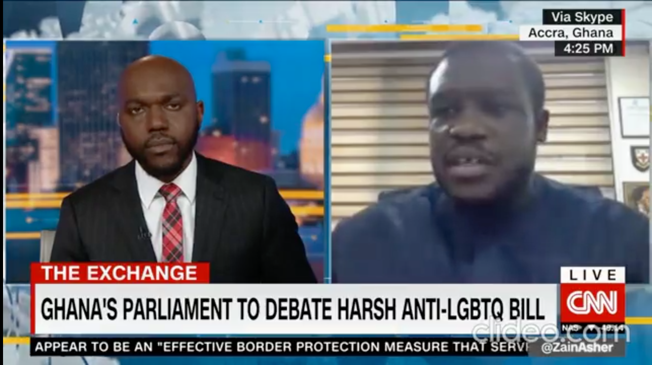 Ghana is not a place for homosexuals – Sam George strongly argues the passing of the Anti-LGBTQ Bill in Ghana on CNN [Video]