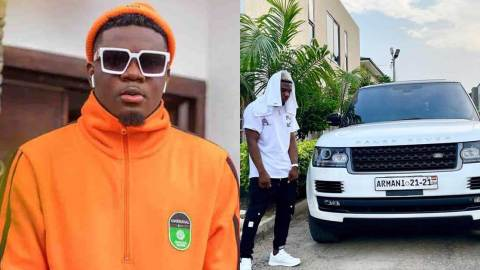 AMG Armani goes completely silent after he was asked his source of wealth during a live radio interview
