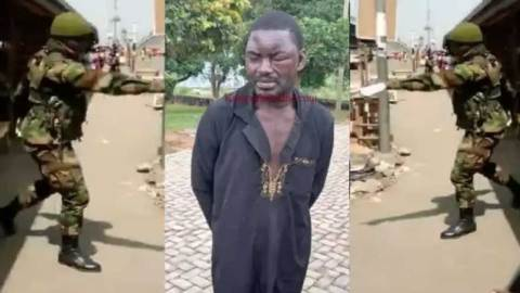 Drama ensues as notorious thief snatches military man's car in broad daylight